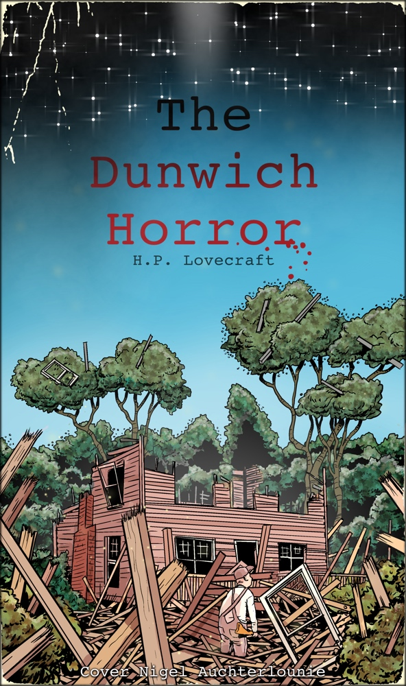 A cover for the Dunwich Horror story