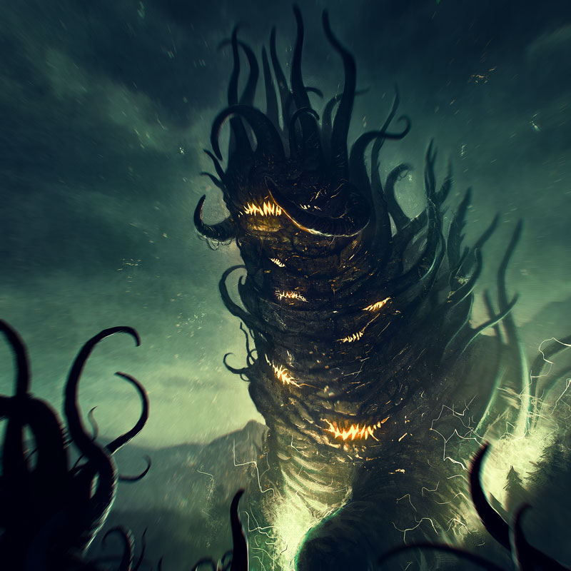 Shub Niggurath from a Lovecraft Role Playing game