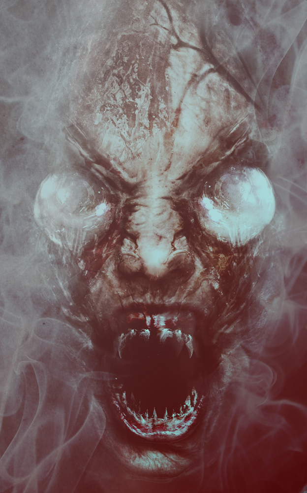 Terrifying visage from the creatures from Innsmouth