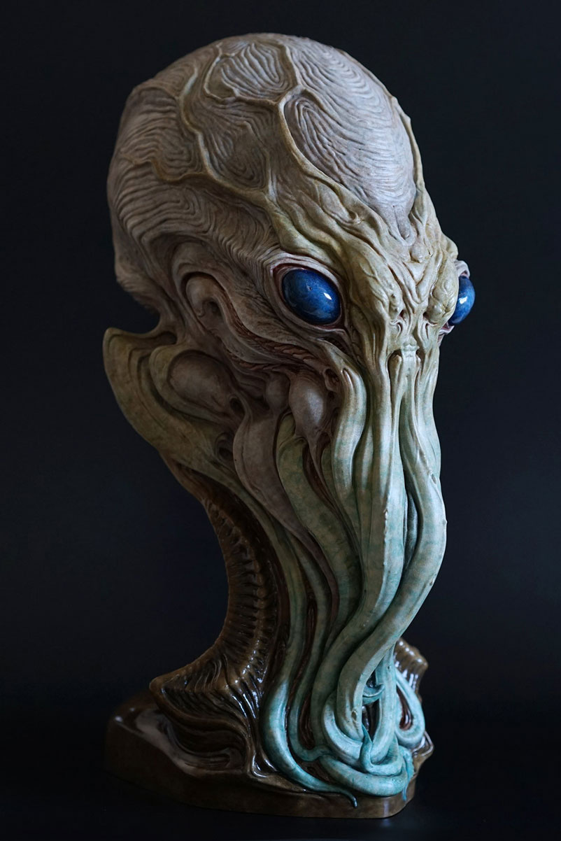 Cthulhu Bust Sculpture image