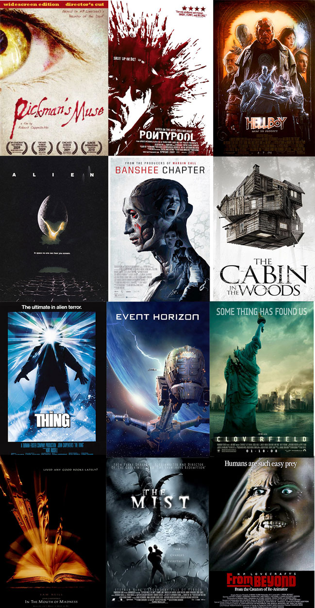 The best Lovecraftian and Lovecraft inspired films list image